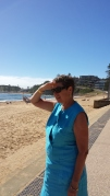 School has just started and Terrigal beach is empty