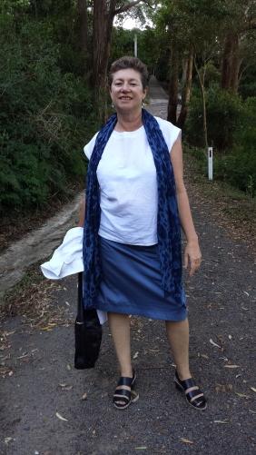 "Off to Terrigal via the ""bush turkey track"""