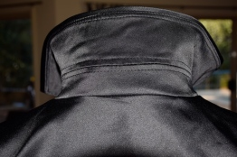Detail of the small insert which enables the collar to stand.