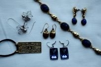 Jewellery. I like wearing and collecting Lapis.