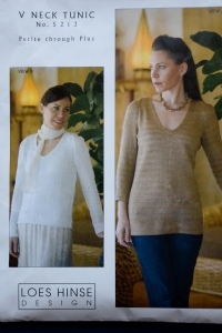 V_neck Tunic designed by Loes Hinse