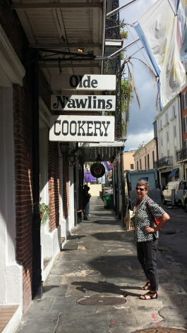 New Orleans...a rare time without a line.