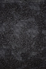 Bobbly texture grey/black wool for a short jacket (only 2m)